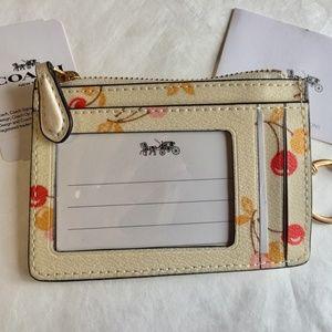 Authentic F31906 Coach Mini ID Wallet Card Case